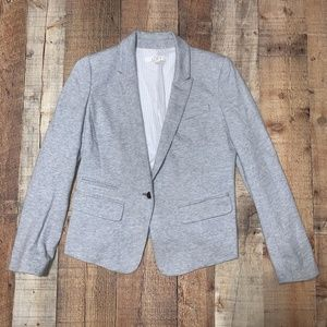 Loft | Casual Gray Button Blazer